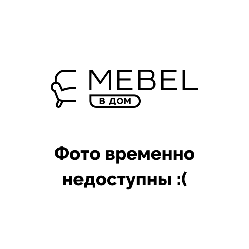 Комод UNI CAMA MEBLE | Белый, черный глянец