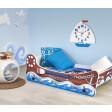 Кровать детская с функцией колыбели Halmar Boat | Лодка