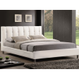 Кровать Signal Nadi | 160х200 / Белый / Хром