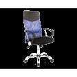 Кресло поворотное Signal Q-025   Черный / синий фото