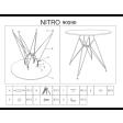 Cтол обеденный Signal Nitro | Белый - 3