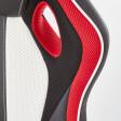 Кресло поворотное Halmar Roadster  | Черный / Красный / Белый фото - 6