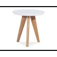 Столик Signal Milan S1 | Белый / дуб