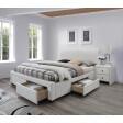 Кровать Halmar Modena 2 | 160х200 / Белый