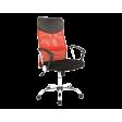 Кресло поворотное Signal Q-025 | Черный / красный