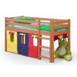 Кровать двухъярусная с матрасом Halmar Neo | Ольха