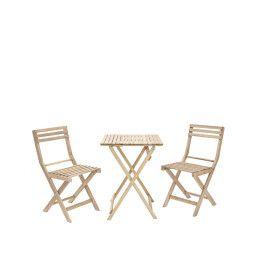 Комплект мебели садовый Pooffe Solis | Деревянный