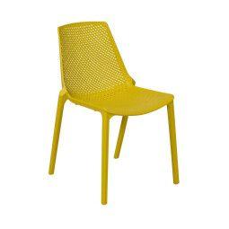 Стул садовый Pooffe Stockholm | Желтый