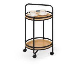Барный столик Halmar BAR-11 | Дерево / Черный
