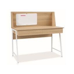 Стол письменный Signal B195 | Белый / Дуб
