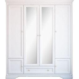 Шкаф Gerbor Клео 4d/1s | Белый