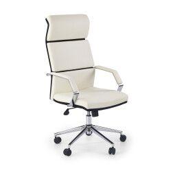 Кресло поворотное Halmar Costa | Черный / Белый