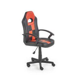 Кресло поворотное Halmar Storm | Черный / Красный