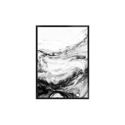 Картина BRW Black Marble 2