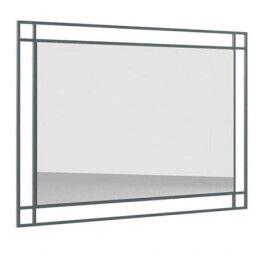 Зеркало Gerbor Мерс МДФ LUS 100   Антрацит / Элегантный серый софт тач
