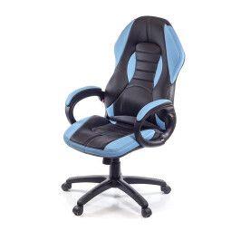 Кресло поворотное Аклас Плей   Синий