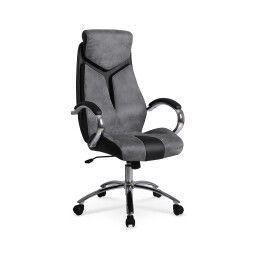 Кресло поворотное Halmar Nixon | Черный / серый