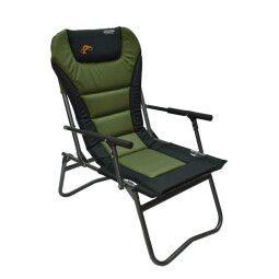 Кресло туристическое Novator SF-4 Comfort   Зеленый / Черный
