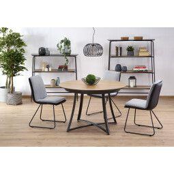 Стол обеденный Halmar Moretti   Дуб / серый