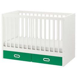 IKEA Кроватка детская STUVA / FRITIDS (ИКЕА СТУВА / ФРИТИДС)