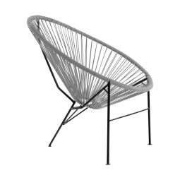 Кресло садовое Pooffe Acapulco | Серый