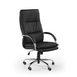 Кресло поворотное Halmar Stanley | Черный