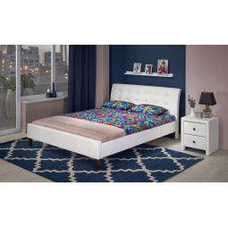Кровать Halmar Samara | 180х200 / Белый
