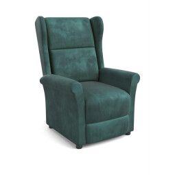 Кресло раскладное Halmar Agustin 2 | Темно-зеленый