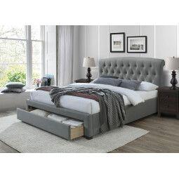 Кровать Halmar Avanti | 160х200 / Серый / орех