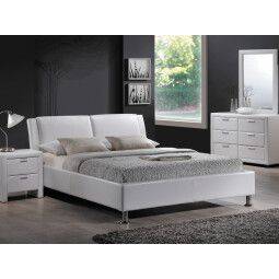 Кровать Signal Mito   160х200 / Белый / Хром