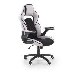 Кресло поворотное Halmar Sonic | Черный / Серый