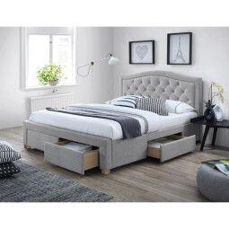 Кровать Signal Electra | 140х200 / Серый / Дуб