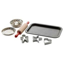 IKEA Игрушечный набор для выпечки DUKTIG (ИКЕА ДУКТИГ)