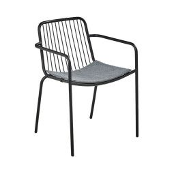 Кресло садовое Pooffe Zoe | Черный