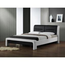 Кровать Halmar Cassandra | 160х200 / Белый / Черный