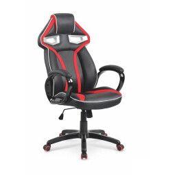 Кресло поворотное Halmar Honor | Черный / Красный
