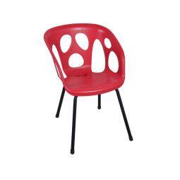 Кресло садовое Pooffe Ghost | Красный