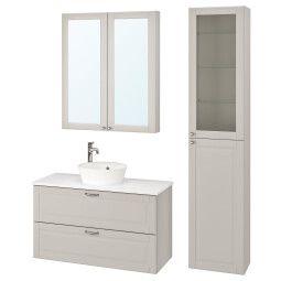 IKEA Комплект мебели для ванной GODMORGON/TOLKEN / KATTEVIK (ИКЕА ГОДМОРГОН/ТОЛКЕН / КАТТЕВИК)