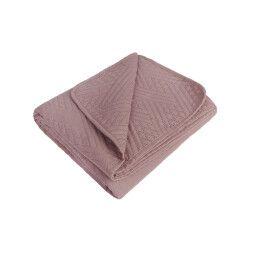 Покривало BRW Bedford | Рожевий