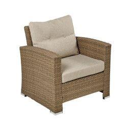 Кресло садовое Pooffe Palermo | Коричневый