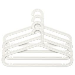IKEA Набор вешалок BAGIS (ИКЕА БАГИС)
