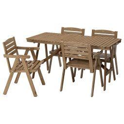 IKEA Комплект мебели садовой FALHOLMEN (ИКЕА ФАЛЬХОЛЬМЕН)