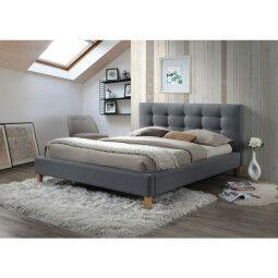 Кровать Signal Texas | 160х200 / Серый / Дуб