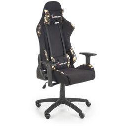 Кресло игровое Halmar Exodus | Черный / Камуфляж
