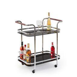 Стол сервировочный Halmar Bar-7 | Черный