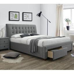 Кровать Halmar Percy | 160х200 / Серый