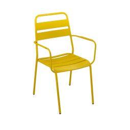Кресло садовое Pooffe Malmo | Желтый