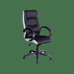 Кресло поворотное Signal Q-041 | Черный / белый