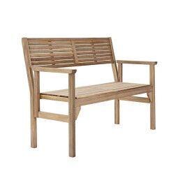 Скамейка садовая Pooffe Solis | Деревянный