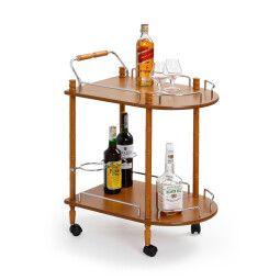 Стол сервировочный Halmar Bar-4 | Бук